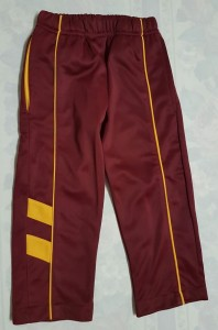 Maroon & Gold Tracksuit pants