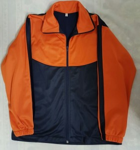 Orange & Navy Tracksuit Jacket